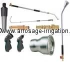 Terminaux pour tubes et tuyaux d'arrosage