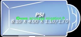 Piscine coque polyester Modèle PSI