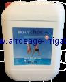 Traitement chimique des eaux de piscine - BIO UV CHOC et RÉMANENT
