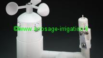 Accessoire Prog. d'Arrosage Micro station météo HUNTER