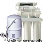 Filtration d'eau domestique OSMOSEUR