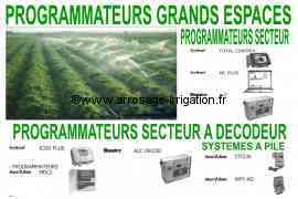 Programmateur hautes performances d'Arrosage et d'Irrigation Système à console