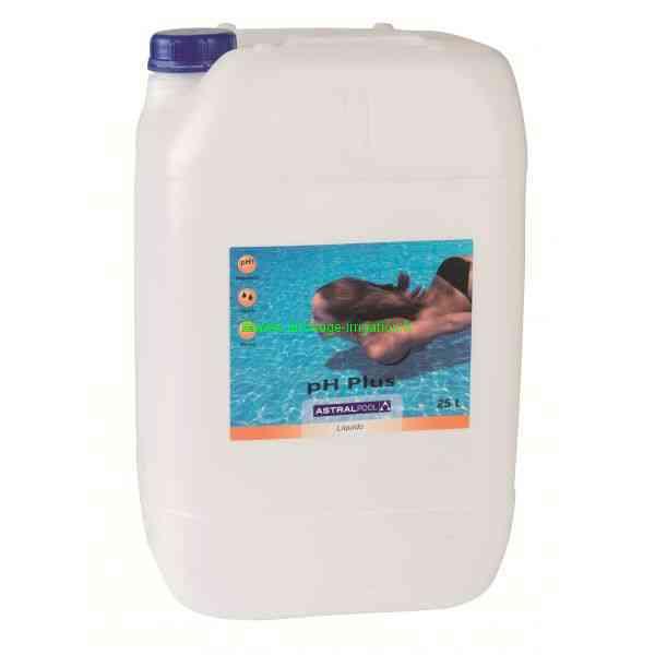 Traitement chimique des eaux de piscine ph moins bidon for Augmenter le ph piscine