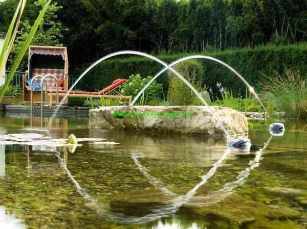 Jets d\'eau Animés, jet de fontaine, Ajutage, pompe