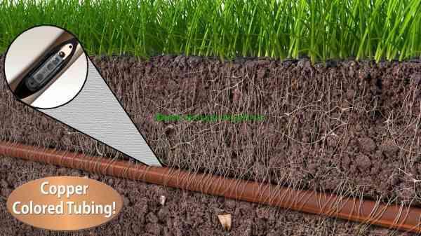 tuyaux irrigation goutteurs incorporés dripline xf rain bird